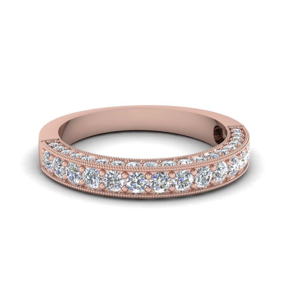 the atique products eliza ring milgrain diamond