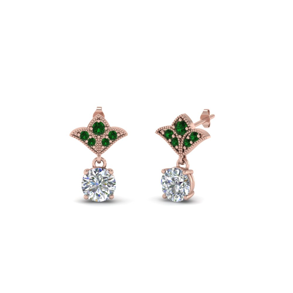 Emerald Earring For Womens