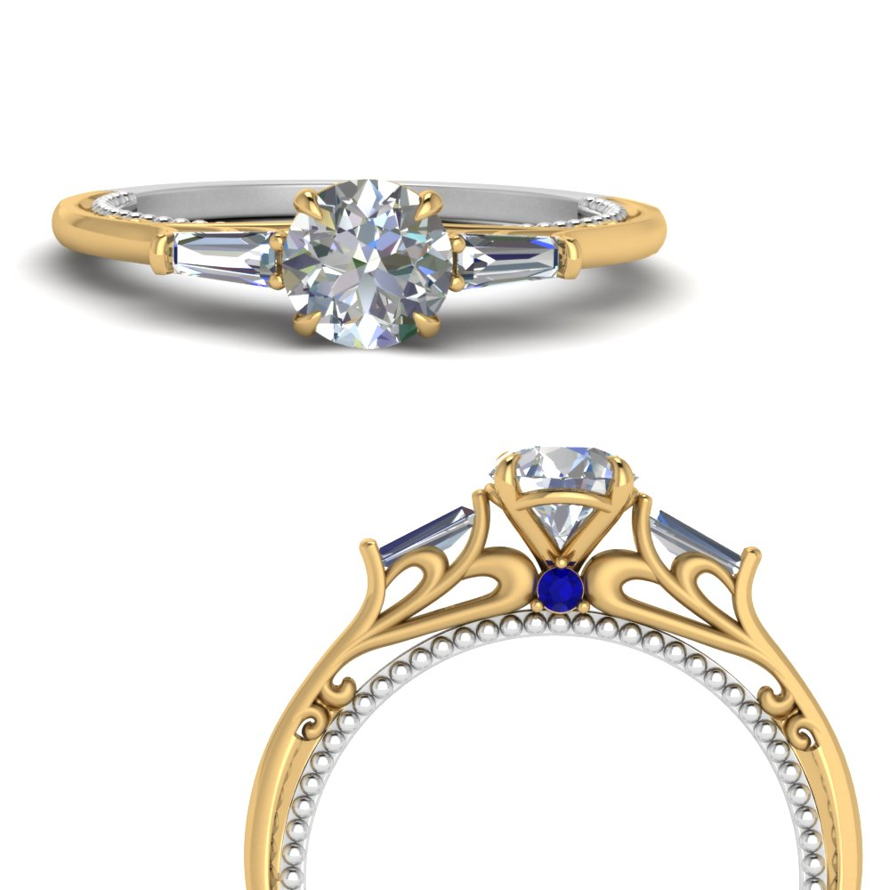 multi-gold-3-stone-baguette-ring-with-sapphire-in-FDENS194RORGSABLANGLE3-NL-YG