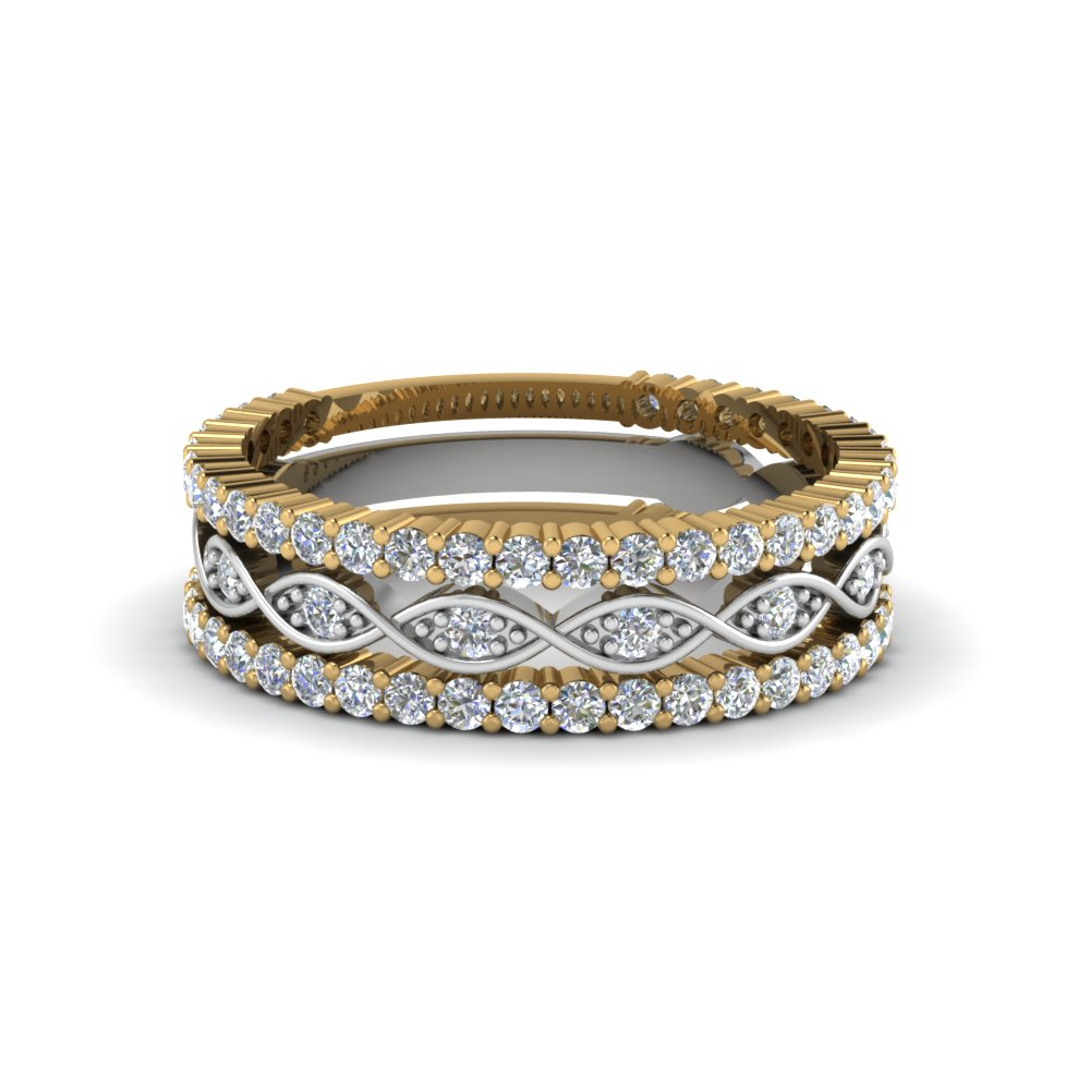 Beautiful Stackable Wedding Ring For Women