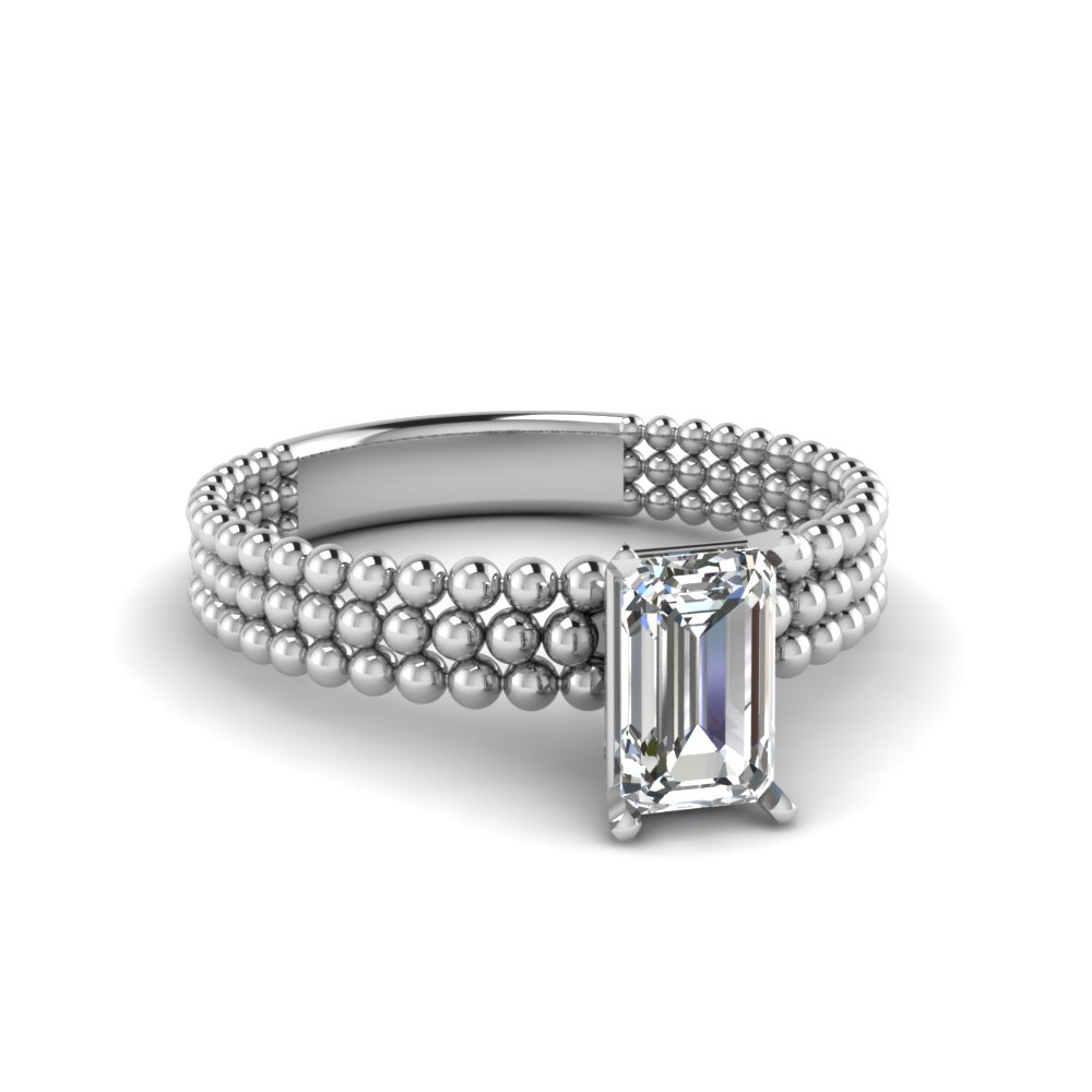one-carat-beaded-emerald-cut-solitaire-ring-in-FD1160EMR-NL-WG