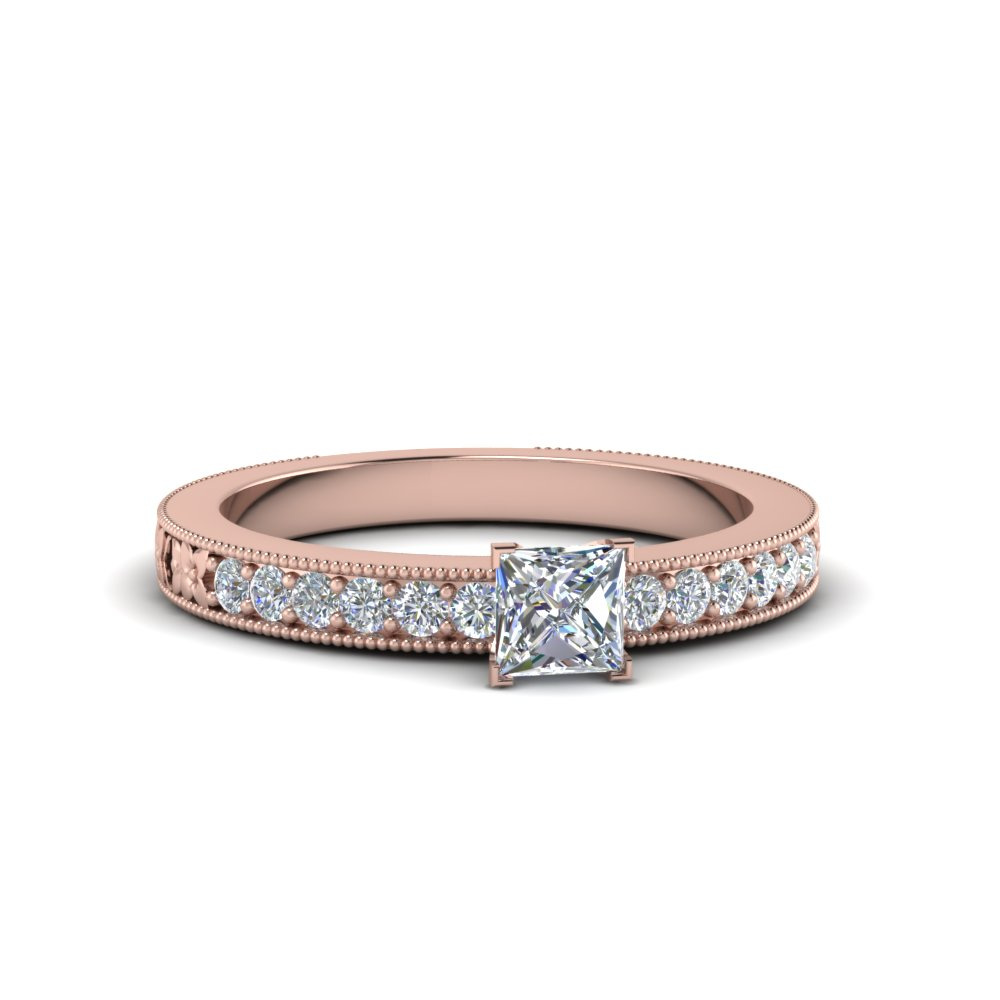 one-karat-princess-cut-diamond-pave-engagement-ring-in-FDENS3516PRR-NL-RG