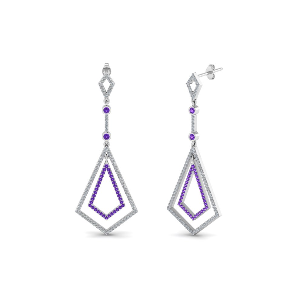 Art Deco Drop Earring