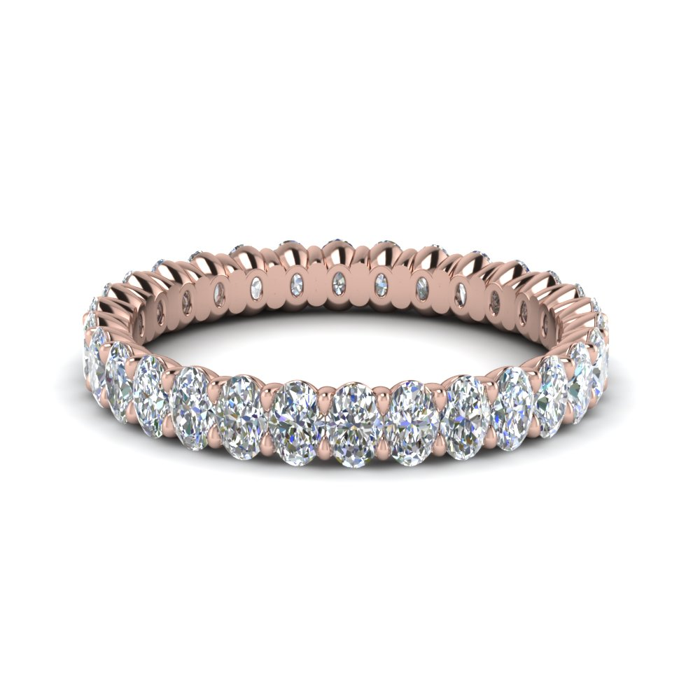 3 Ct. Oval Eternity Band