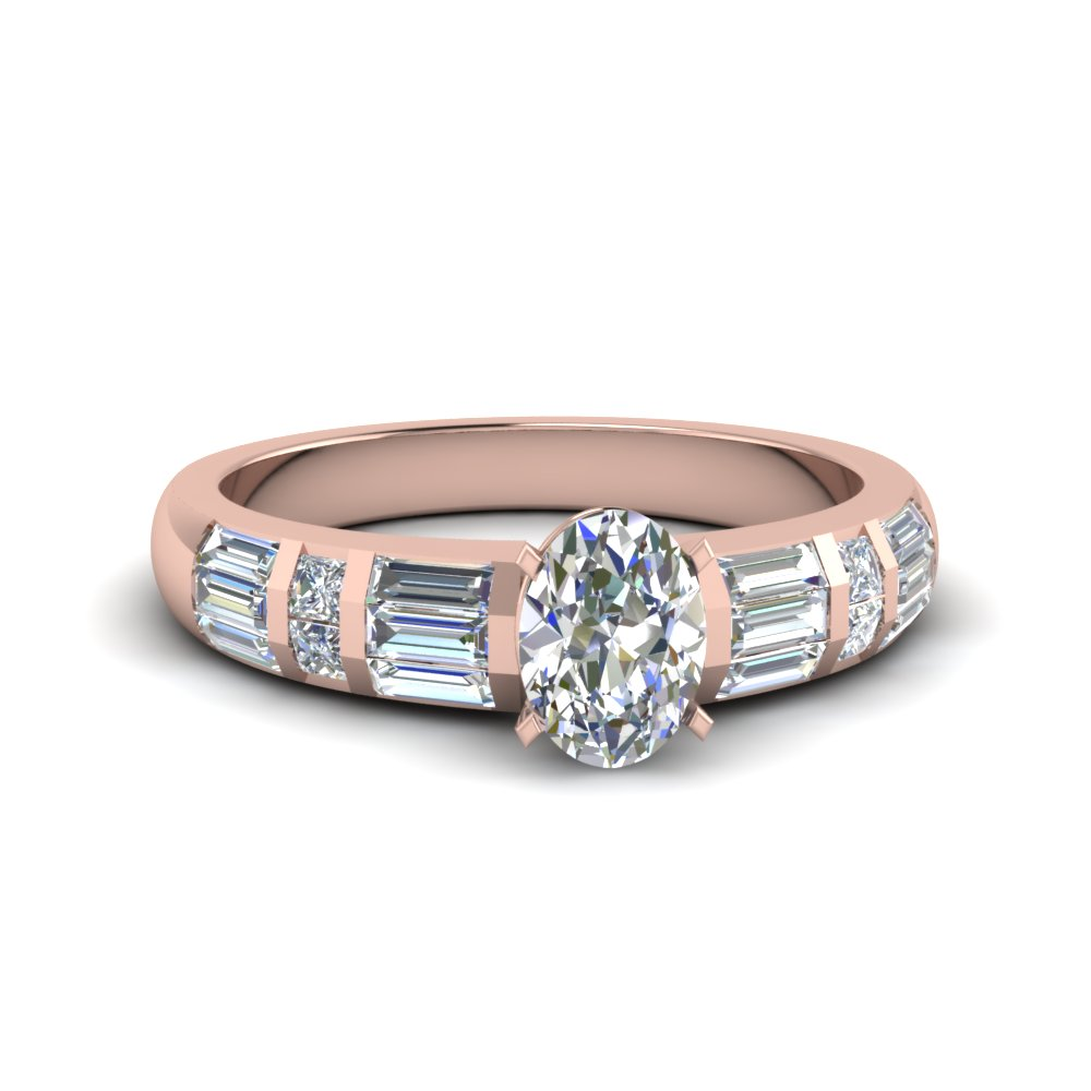 Oval Shaped 1 Carat Ring