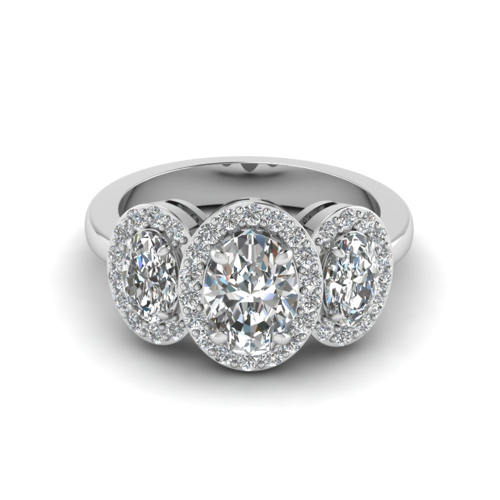 Oval Shaped Anniversary Ring