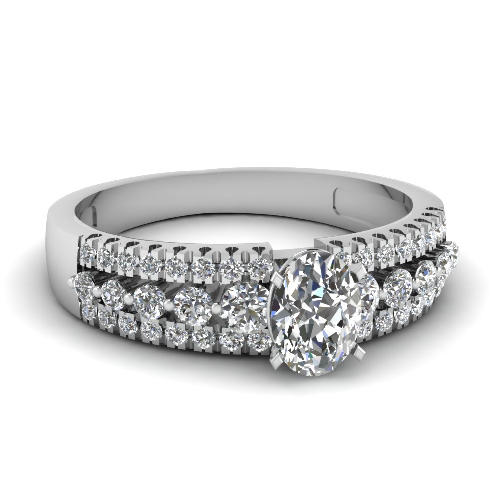 Affordable Oval Cut Engagement Rings Fascinating Diamonds