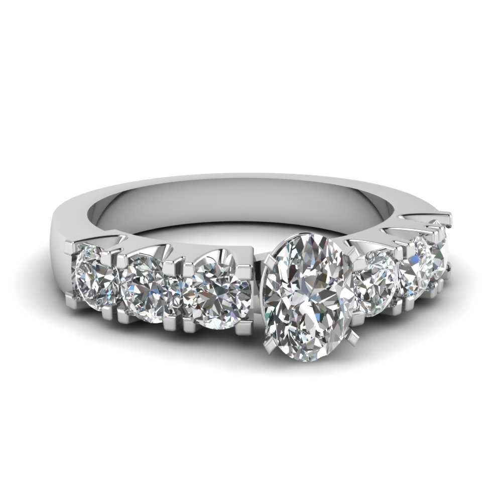 GIA Certified Oval Diamond Ring