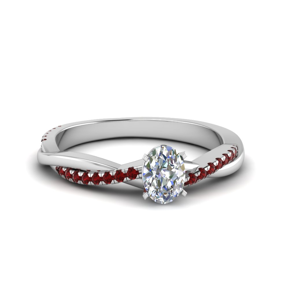 Oval Diamond Ring 2 Carat