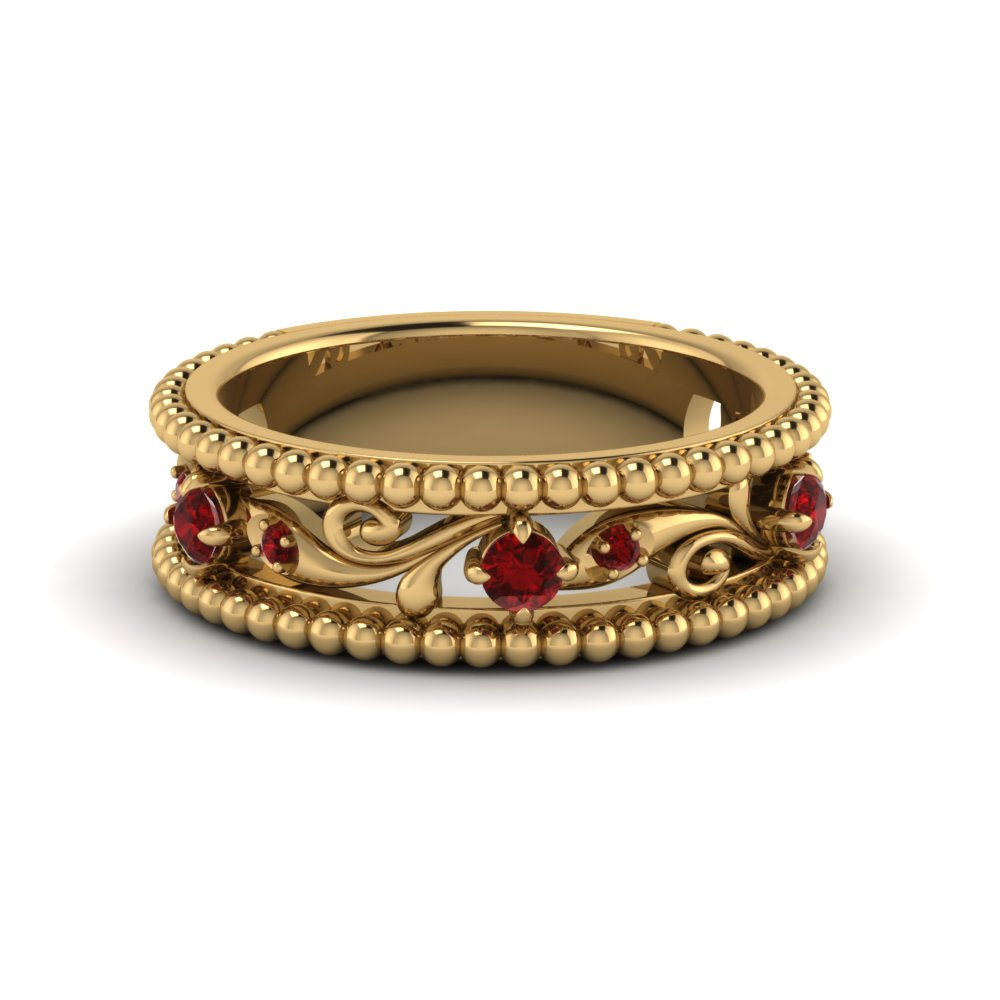 paisley-ruby-vintage-wedding-band-in-FD123127BGRUDR-NL-YG