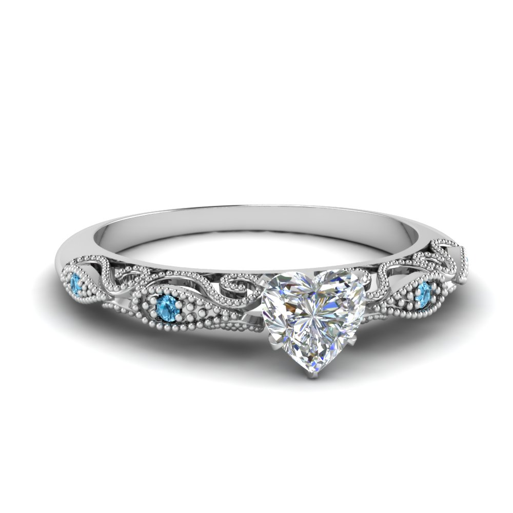 paisley heart diamond engagement ring with blue topaz in FD69805HTRGICBLTO NL WG.jpg
