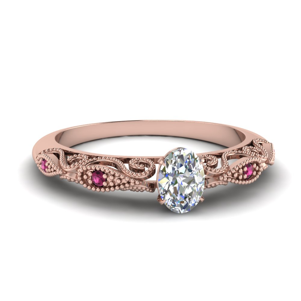 paisley oval diamond engagement ring with pink sapphire in FD69805OVRGSADRPI NL RG.jpg