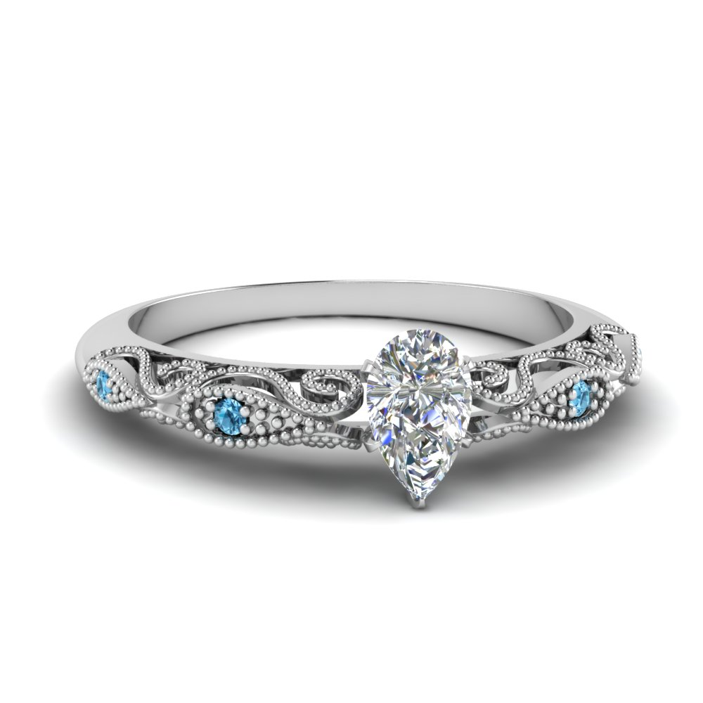 paisley pear lab diamond engagement ring with blue topaz in FD69805PERGICBLTO NL WG.jpg