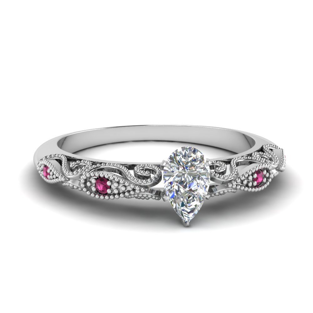 paisley pear diamond engagement ring with pink sapphire in FD69805PERGSADRPI NL WG.jpg