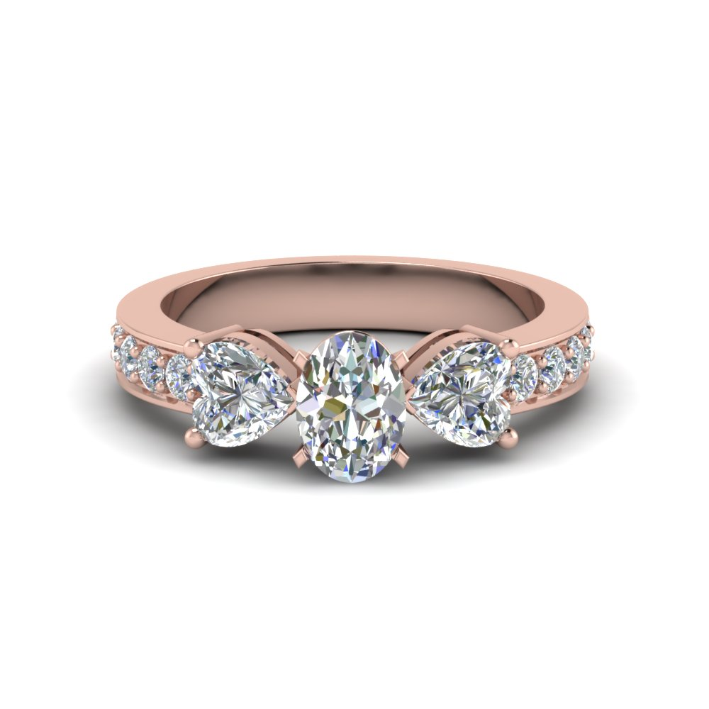 2 Ct. Oval Shaped Diamond Ring