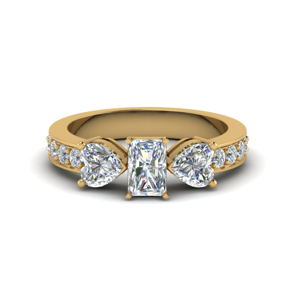 2 Carat Radiant Cut Diamond Ring