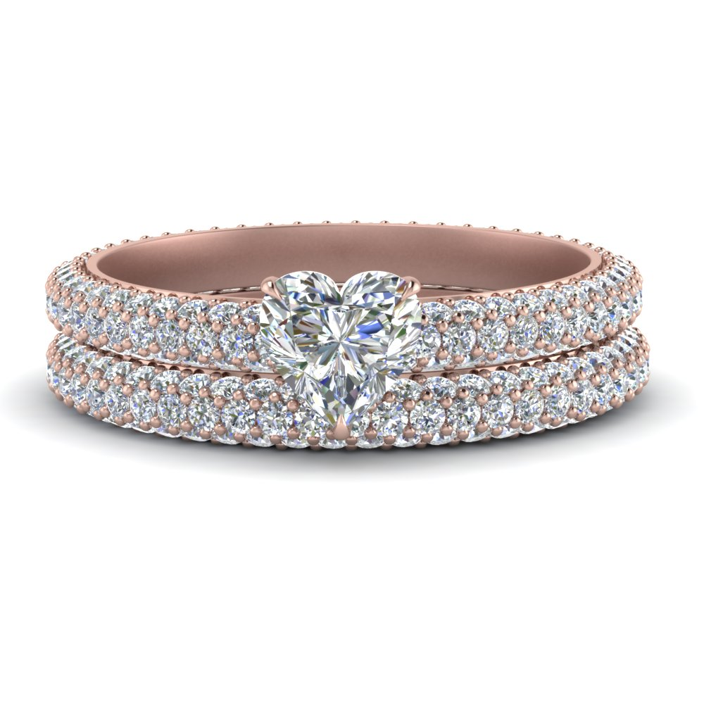 pave-eternity-heart-shaped-diamond-wedding-ring-set-in-FD9241HT-NL-RG