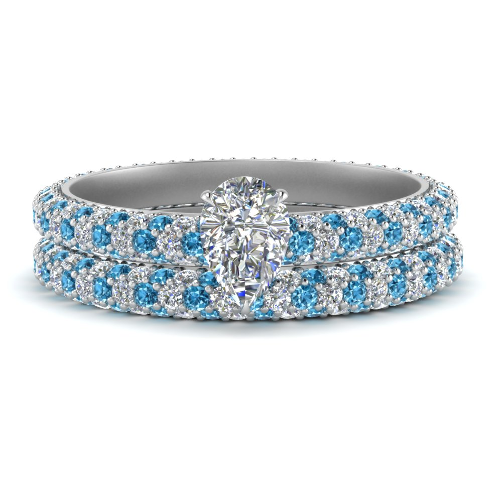pave-eternity-pear-shaped-diamond-wedding-ring-set-with-blue-topaz-in-FD9241PEGICBLTO-NL-WG
