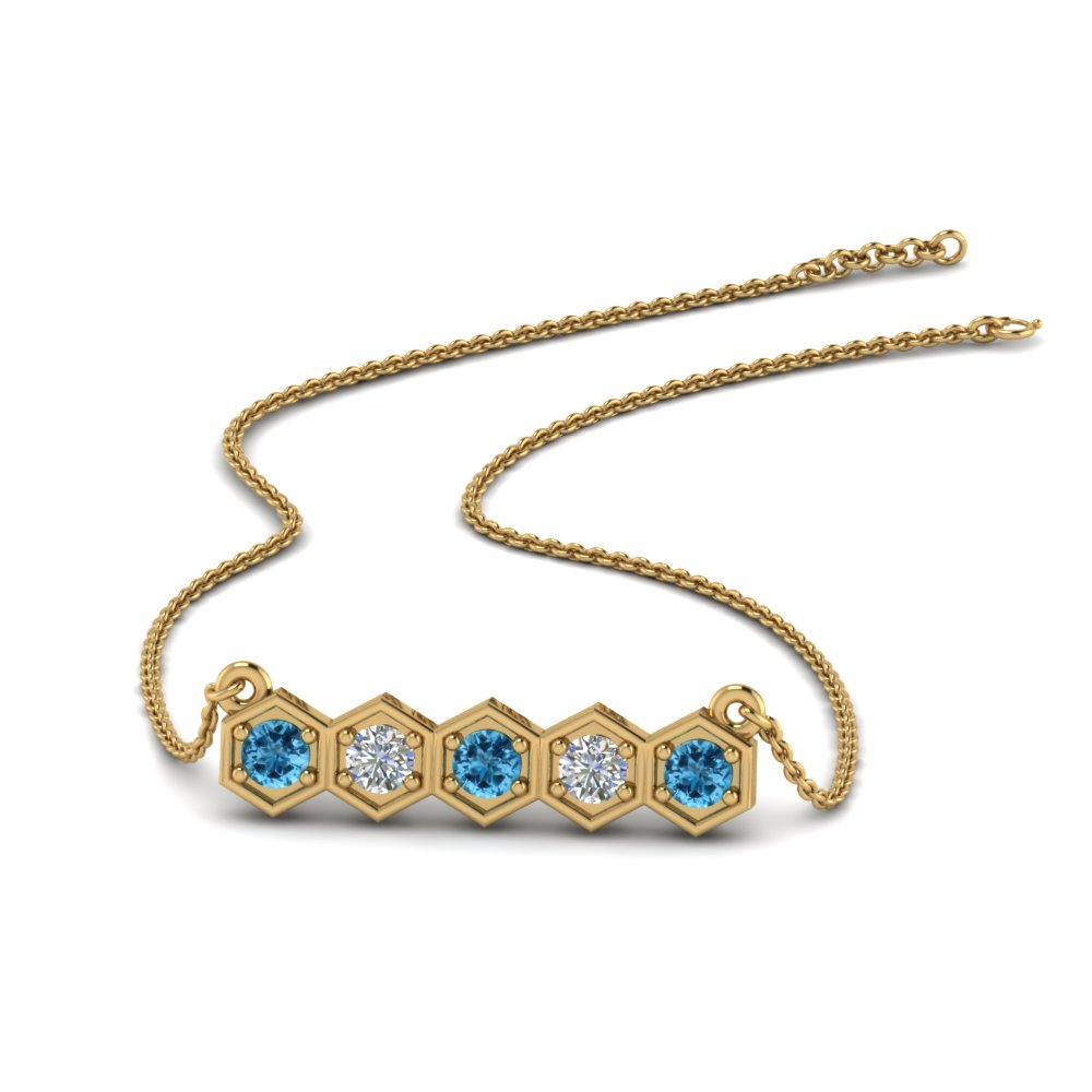 pave-hexagon-diamond-necklace-with-blue-topaz-in-FDPD86609GICBLTO-NL-YG