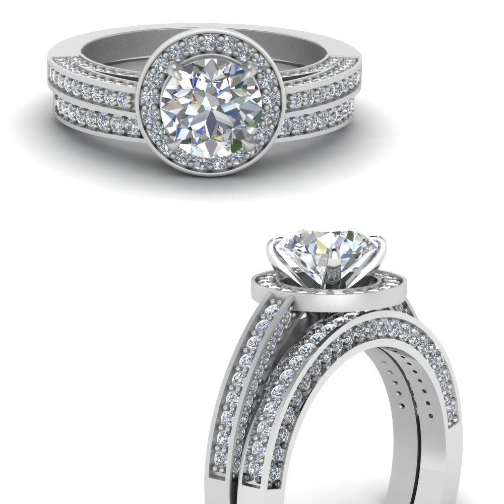 pave round diamond halo wedding ring set in FDENS3282ROANGLE3 NL WG.jpg