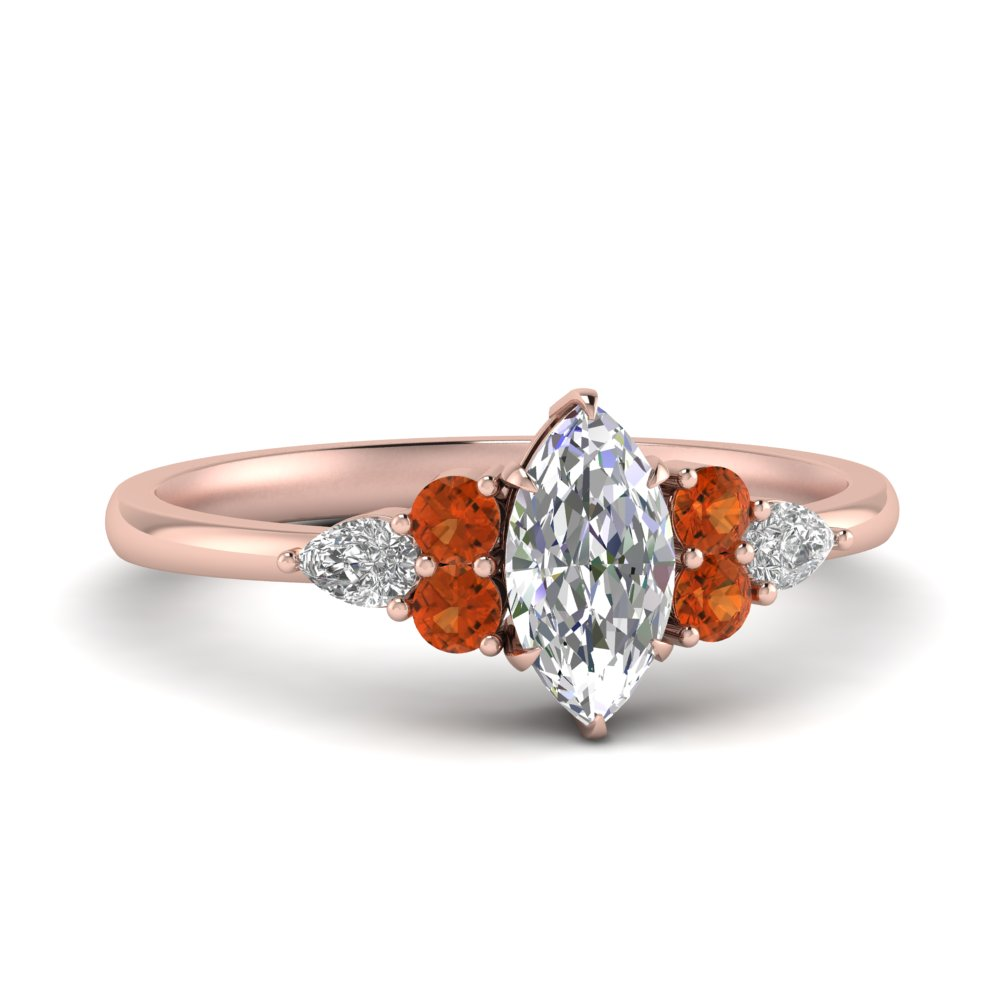 pear-accented-marquise-cut-diamond-ring-with-orange-sapphire-in-FD9289MQRGSAOR-NL-RG