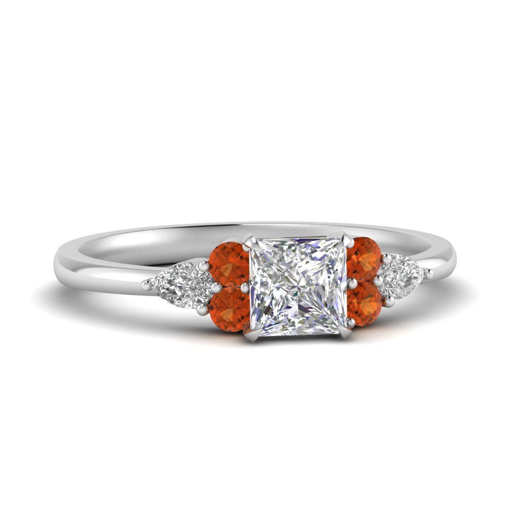 pear-accented-princess-cut-diamond-ring-with-orange-sapphire-in-FD9289PRRGSAOR-NL-WG
