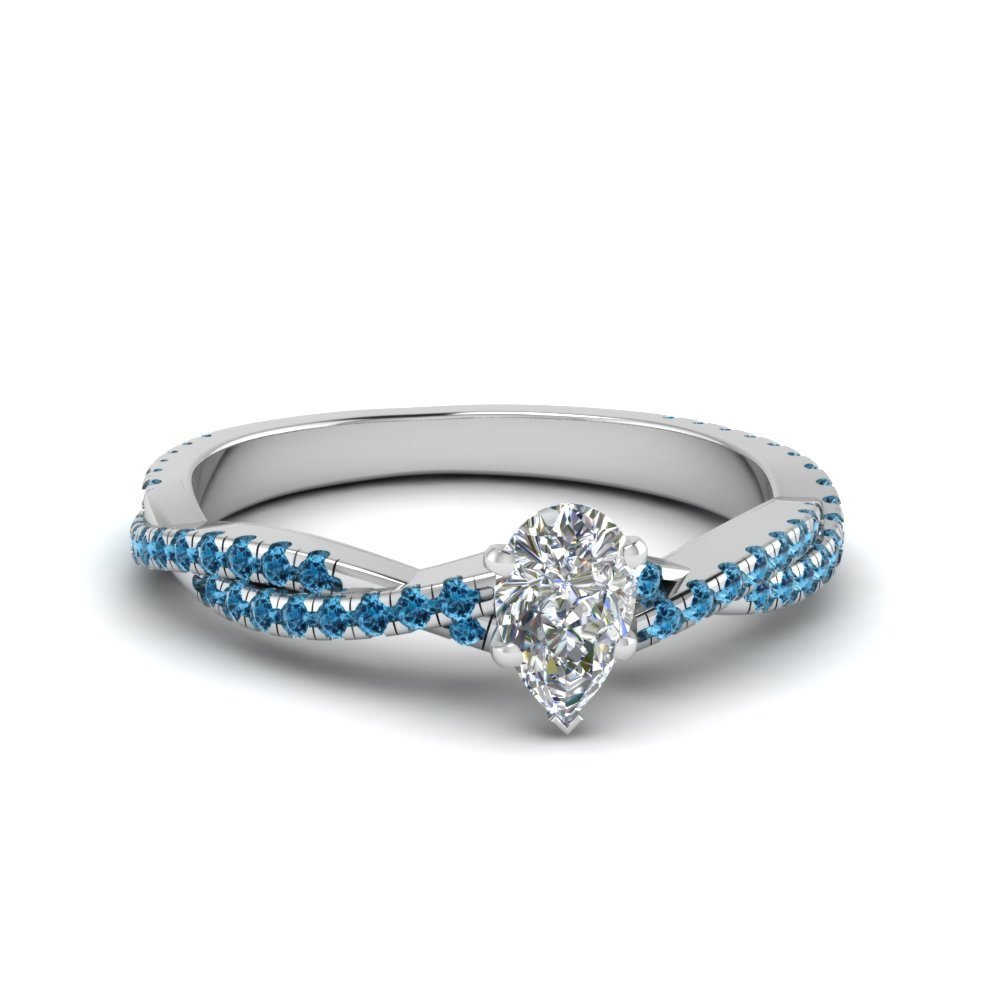 1 Ct. Braided Engagement Ring