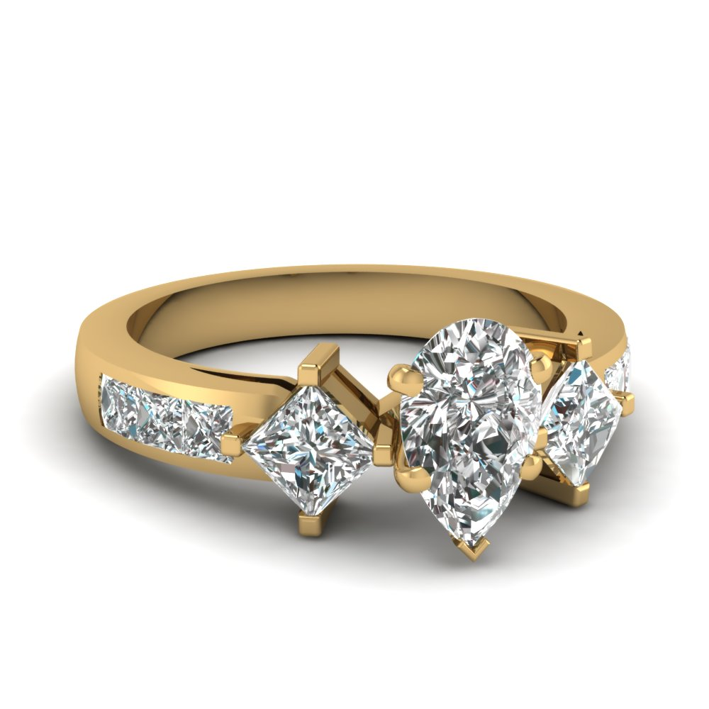 pear-shaped-diamond-adjoined-shank-sidestone-ring-in-14K-yellow-gold-FDENS208PER-NL-YG