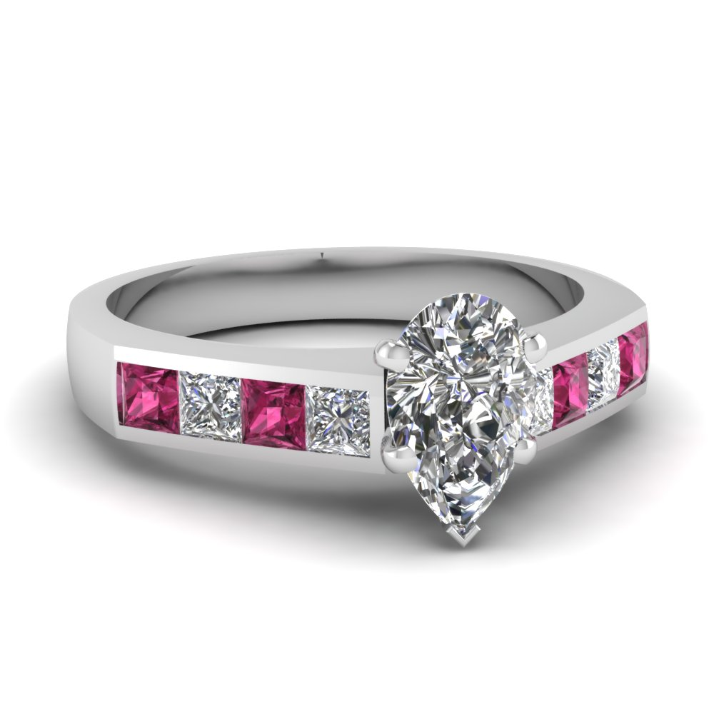 pear-shaped-diamond-engagement-ring-with-dark-pink-sapphire-in-14K-white-gold-FDENR1022PERGSADRPI-NL-WG