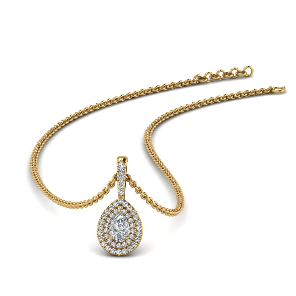 pear-shaped-double-halo-diamond-pendant-in-FDPD86826PE(6.0X4.0MM)-NL-YG-GS