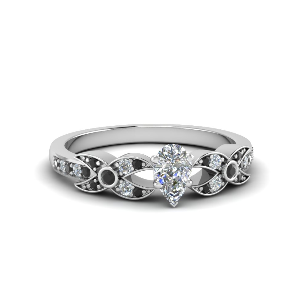 Affordable Black Diamond Wedding Ring