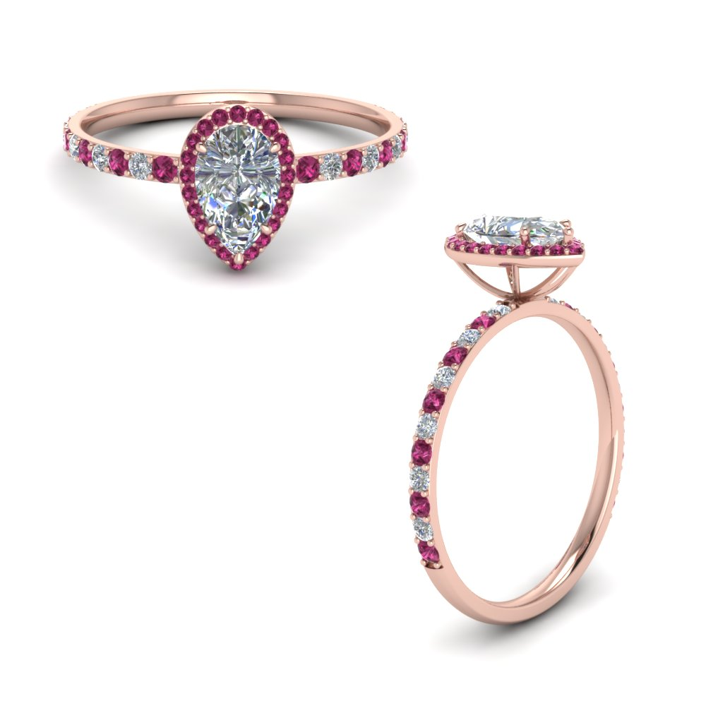 rose mdc oval ring sapphire from pink nyc diamonds morganite halo engagement cfm gold european rings