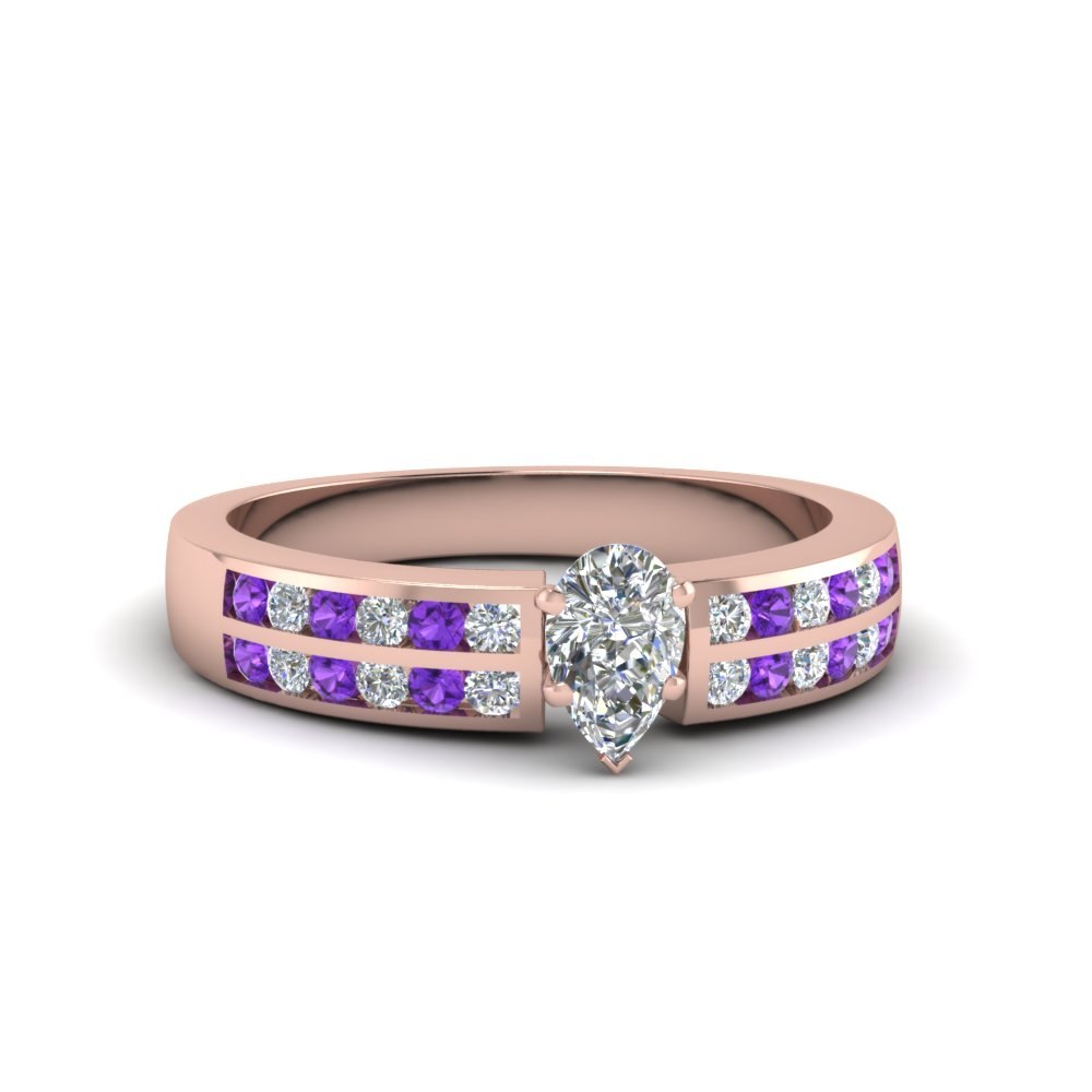 Affordable Channel Set Wedding Ring For Her