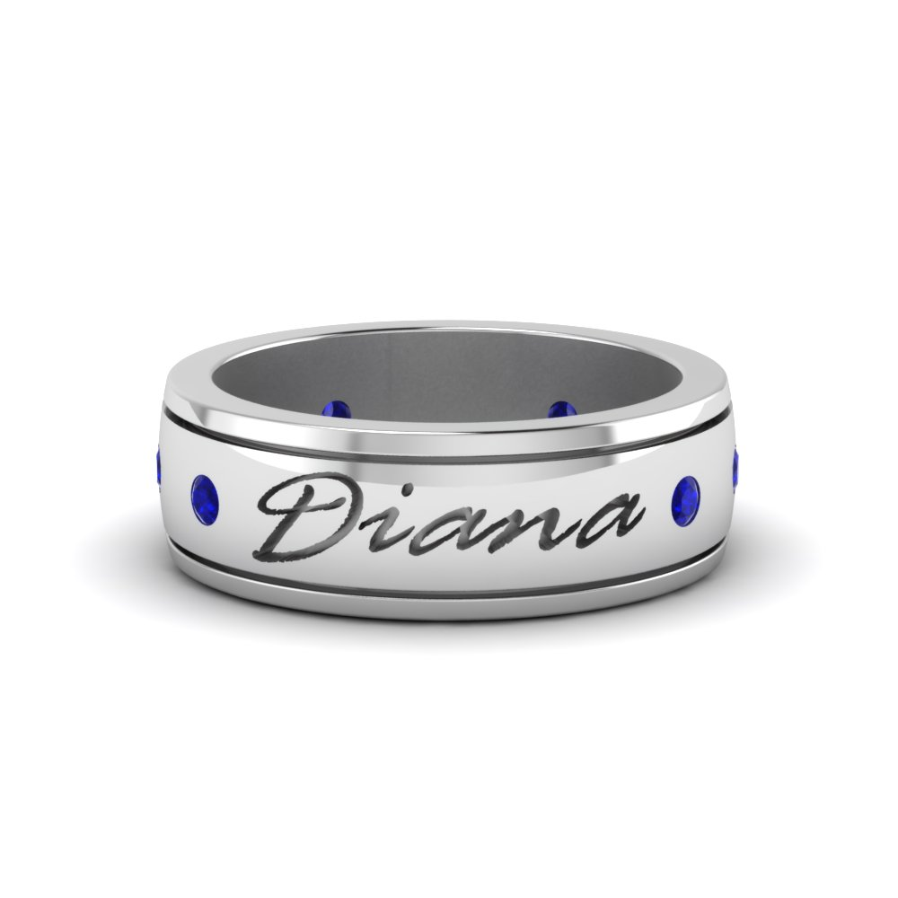 Personalized Mens Band 6.0mm