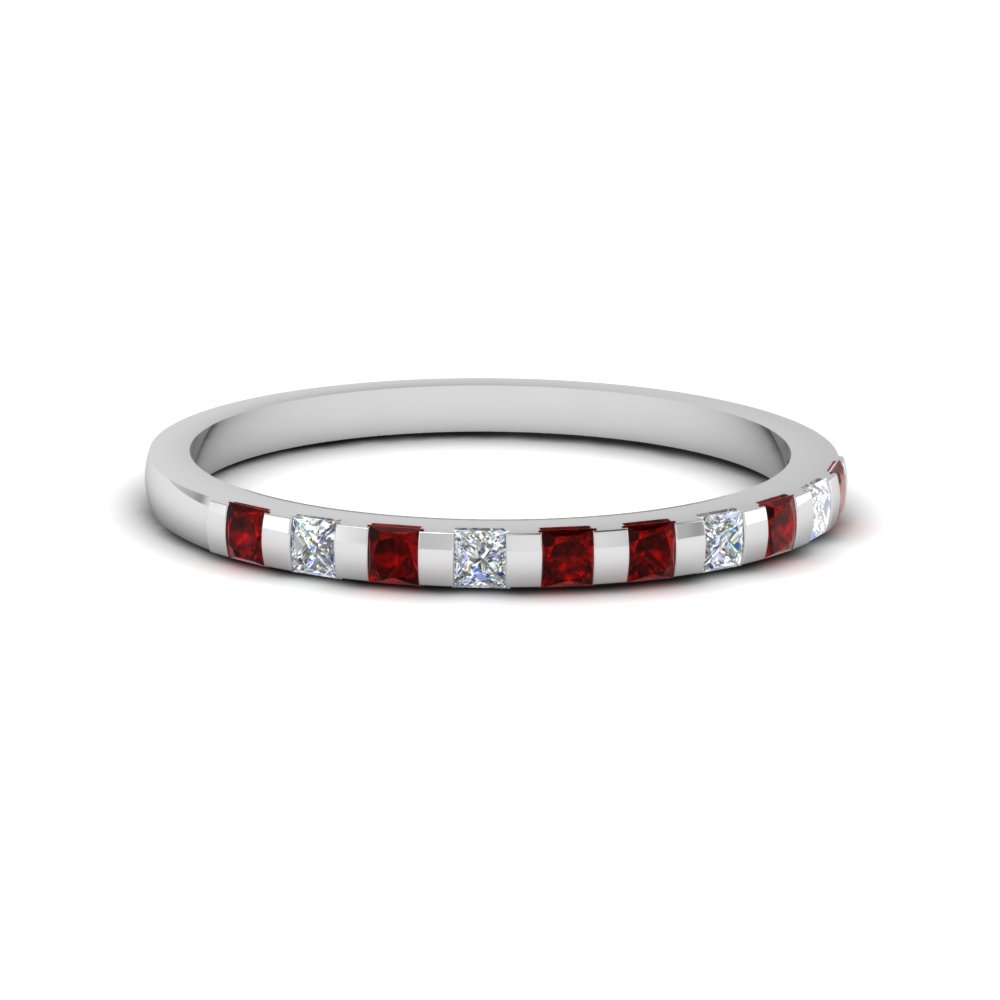 petite bar set diamond wedding band with ruby in FDENS3100BGRUDR NL WG 30.jpg