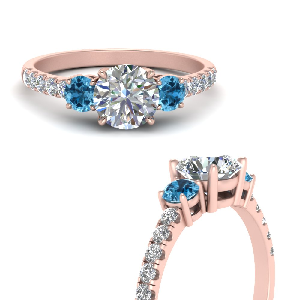 petite-micropave-three-stone-diamond-engagement-ring-with-blue-topaz-in-FD9383RORGICBLTOANGLE3-NL-RG