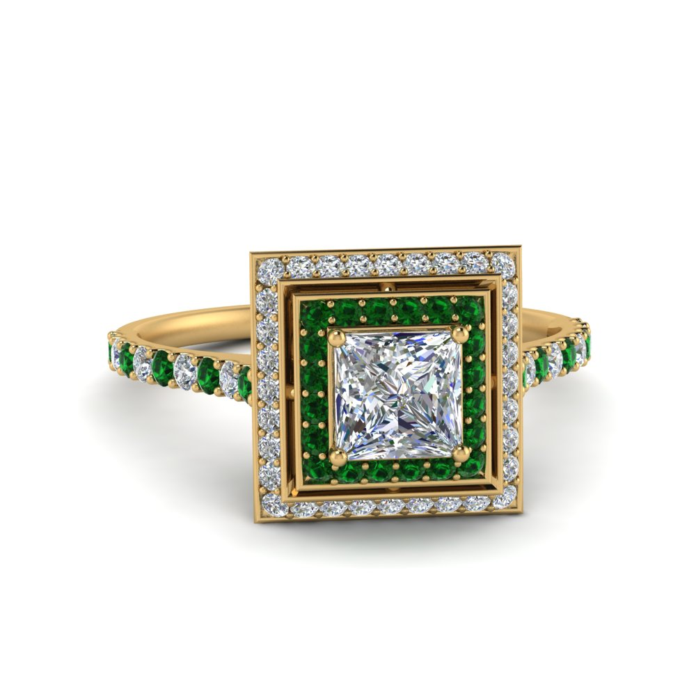 petite-princess-diamond-engagement-ring-with-emerald-double-halo-in-FD121992PRRGEMGR-NL-YG