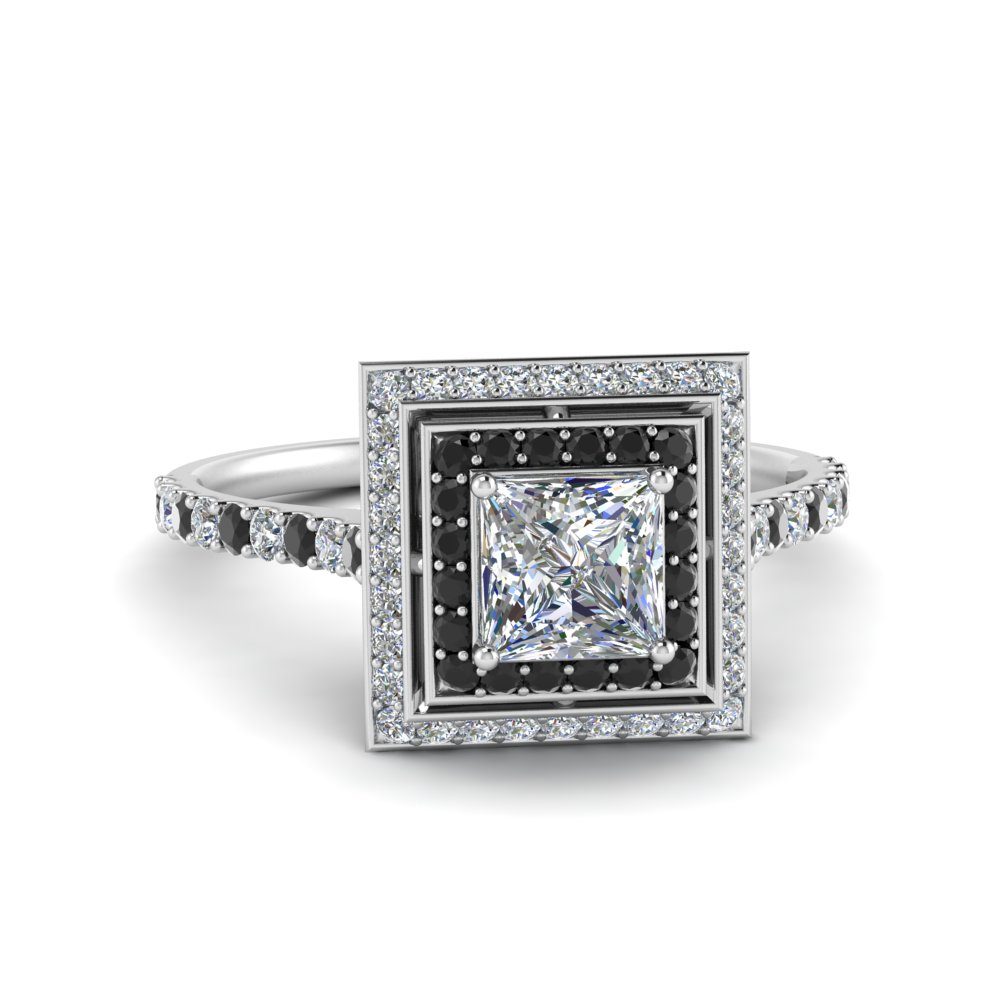 petite-princess-engagement-ring-with-black-diamond-double-halo-in-FD121992PRRGBLACK-NL-WG