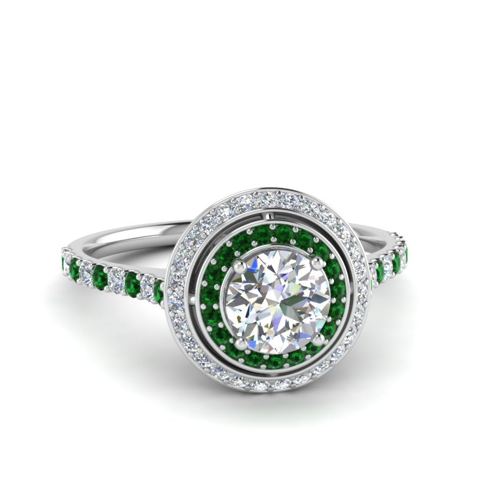 petite-round-diamond-engagement-ring-with-emerald-double-halo-in-FD121992RORGEMGR-NL-WG