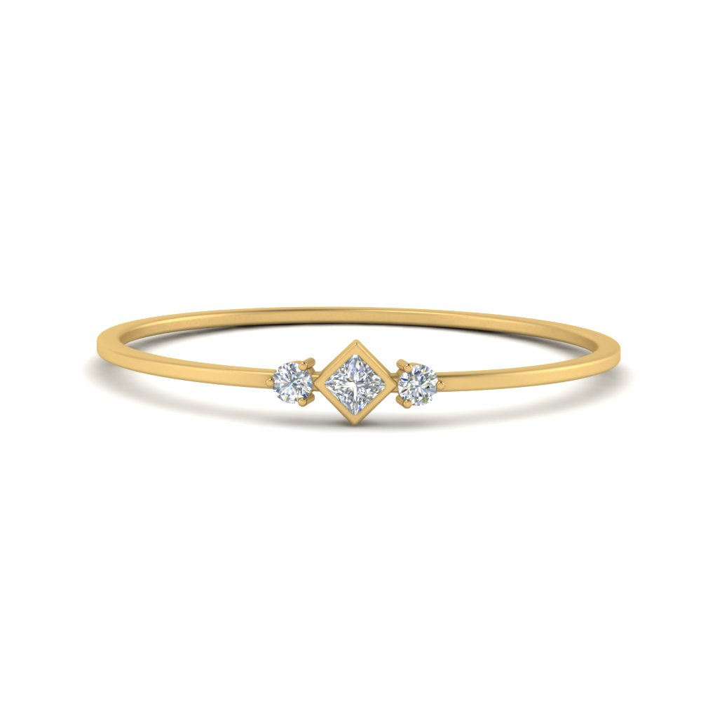 petite yellow gold diamond wedding band FD9396 NL YG
