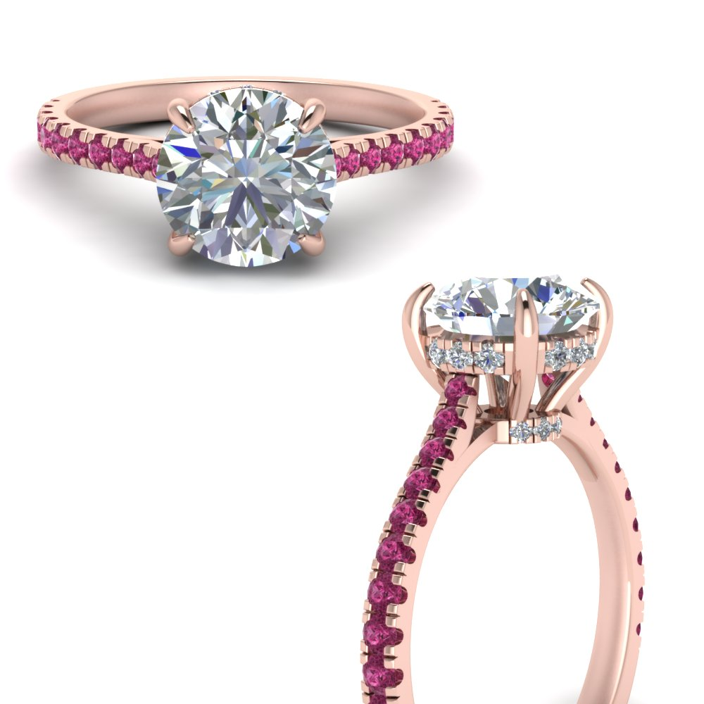 pink-sapphire-cathedral-engagement-ring-with-hidden-diamond-1.50-carat-in-FD9128RORGSADRPIANGLE3-NL-RG-GS1