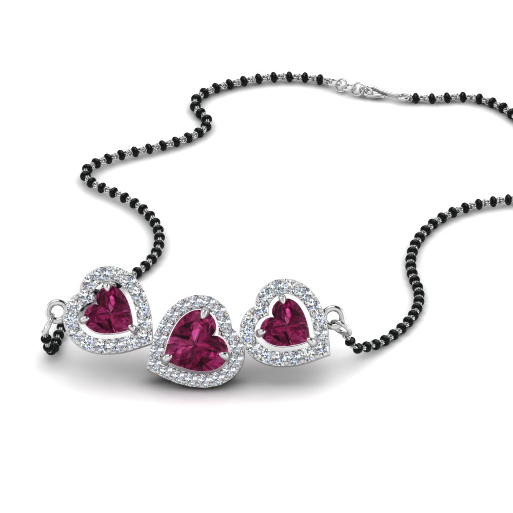 row necklace kaufmann cascade suisse pink product sapphire single de
