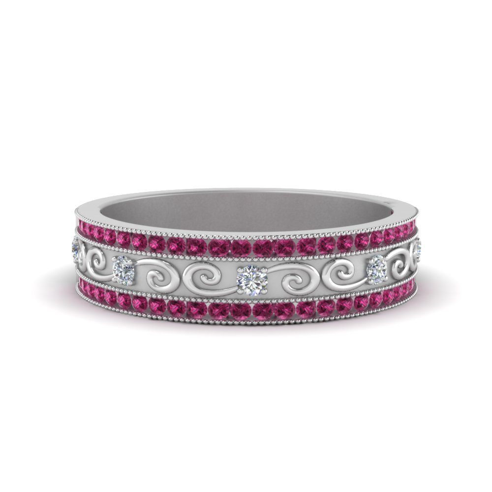 pink-sapphire-milgrain-channel-diamond-wedding-band-in-FDB8627GSADRPI-NL-WG