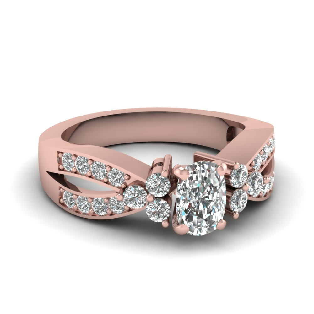 1.25 Ct. Pave Diamond Ring
