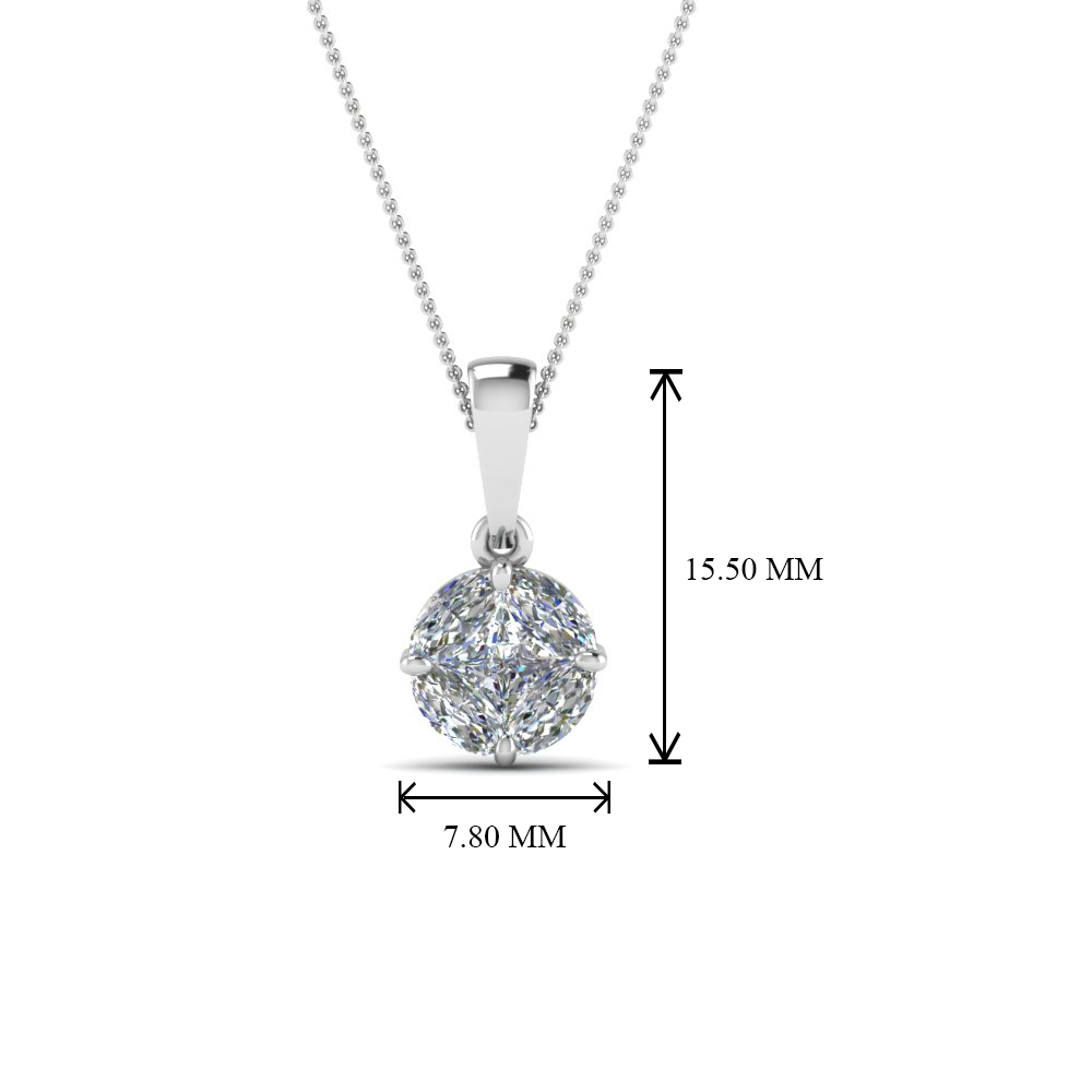 white gold pendant diamond products pghsd igi usa tw certified w ct solitaire