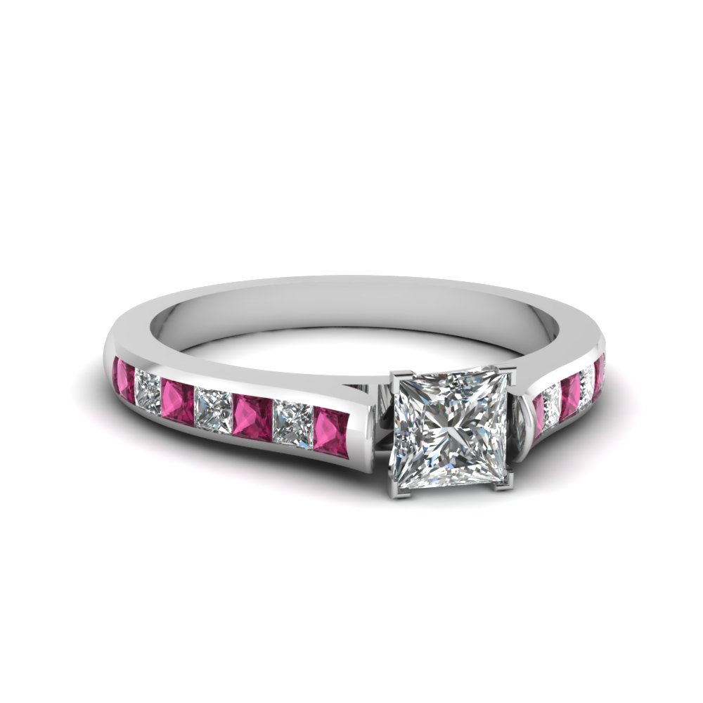 Cathedral Diamond Wedding Ring