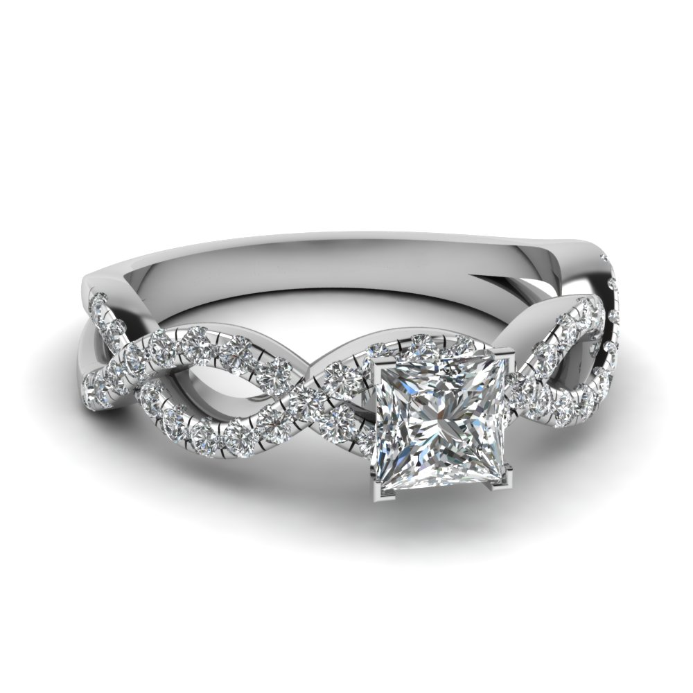 princess cut infinity diamond ring in FD1121PRR NL WG.jpg