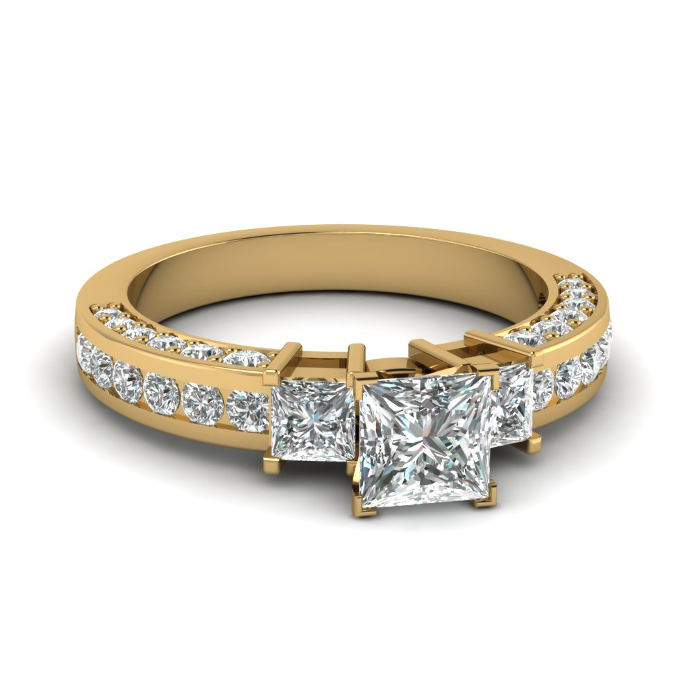 Perfect Match (Princess Cut Diamond Band)