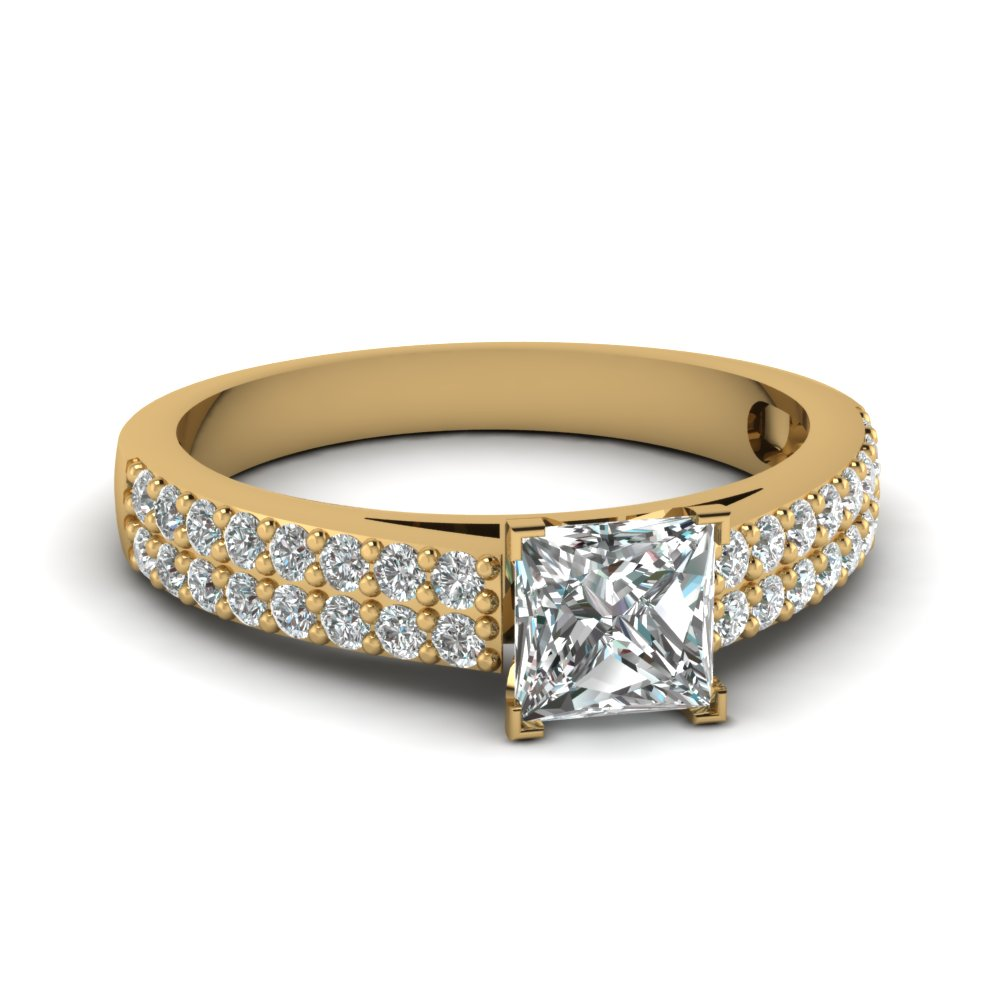 Twin Row Diamond Ring