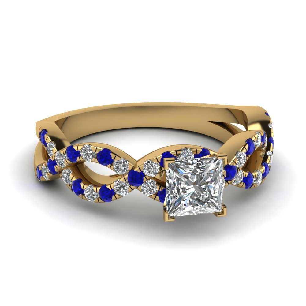 ring gold band and estate vintage boylerpf products sapphire bands diamond
